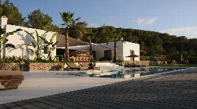Beautiful villa in a valley near to San Jose - Ibiza with stunning views of the nature