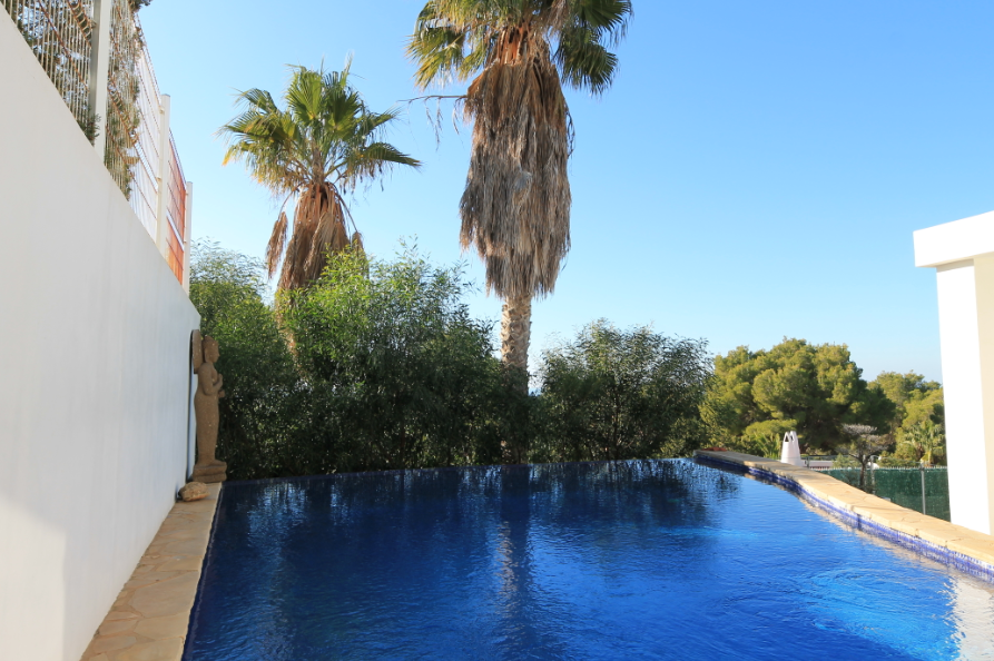Luxury villa for sale with views to Es Vedra with rental licence