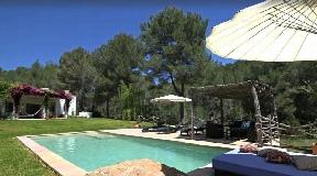 Newly built Ibizan finca with a modern touch in Santa Gertrudis