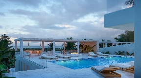 Luxurious frontline villa in Talamanca with amazing views