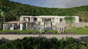 Luxury Blakstad villa only 10 minutes from Santa Gertrudis for sale