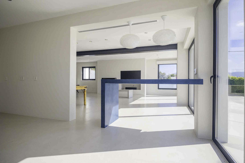 Modern villa in Cala Codolar with fantastic views to the sea
