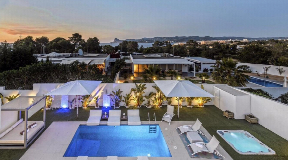 Modern style villa located in the sunset coast of Ibiza