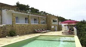 Newly renovated villa with stunning sea views near Cala Bassa