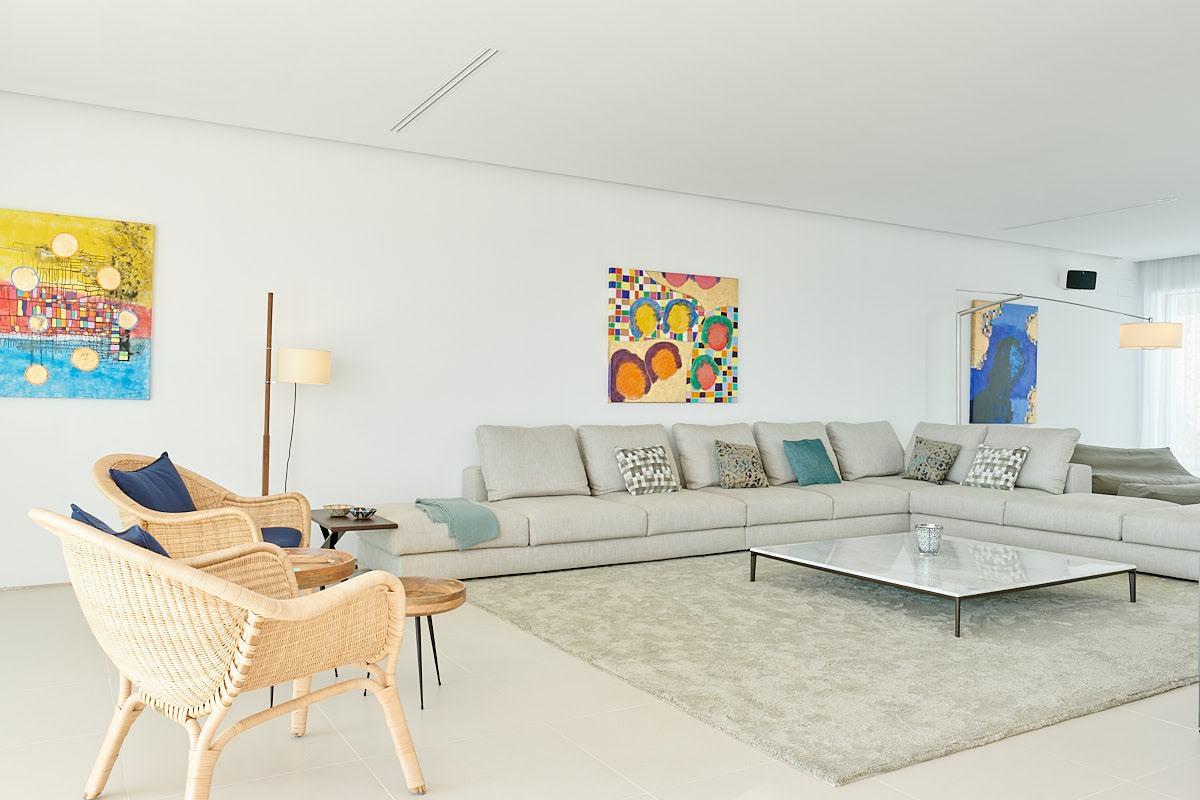 Modern and brand new built luxury villa located in the prestigious area of San Josep