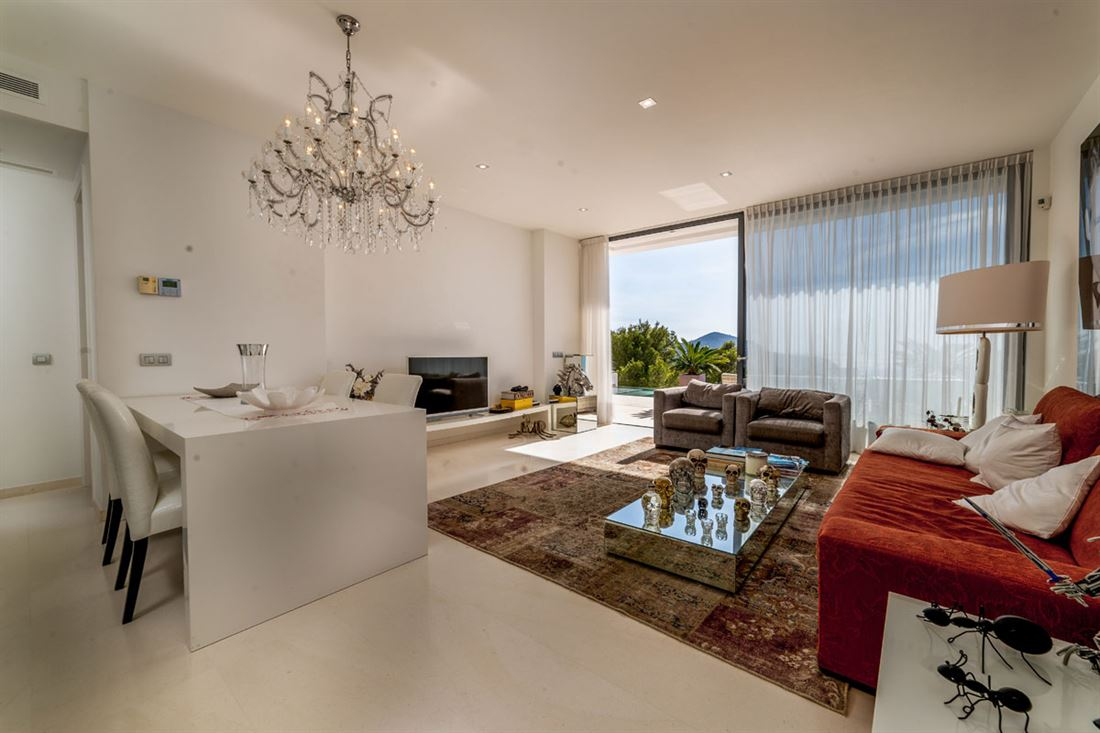 Modern villa for sale in South-West with fantastic sea views