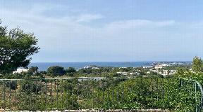 Fantastic rustic villa with sea view and tourist rental license