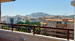 Penthouse in the centre of Ibiza overlooking D'Alt Villa