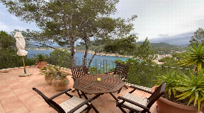 House with spectacular views of Cala San Vicente