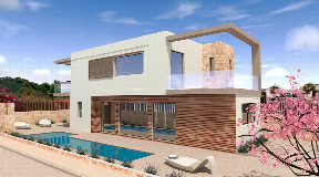 Brand new detached house with pool in Santa Gertrudes