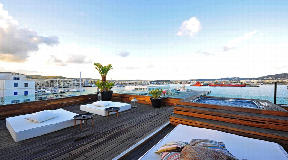 Large apartment and roof terrace in Ibiza town is for sale
