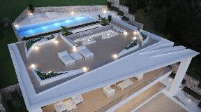 Luxury villa with fantastic sea views in Cas Mut - Ibiza