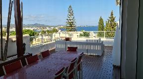 Modern villa with views in the town of Santa Eulalia del Rio