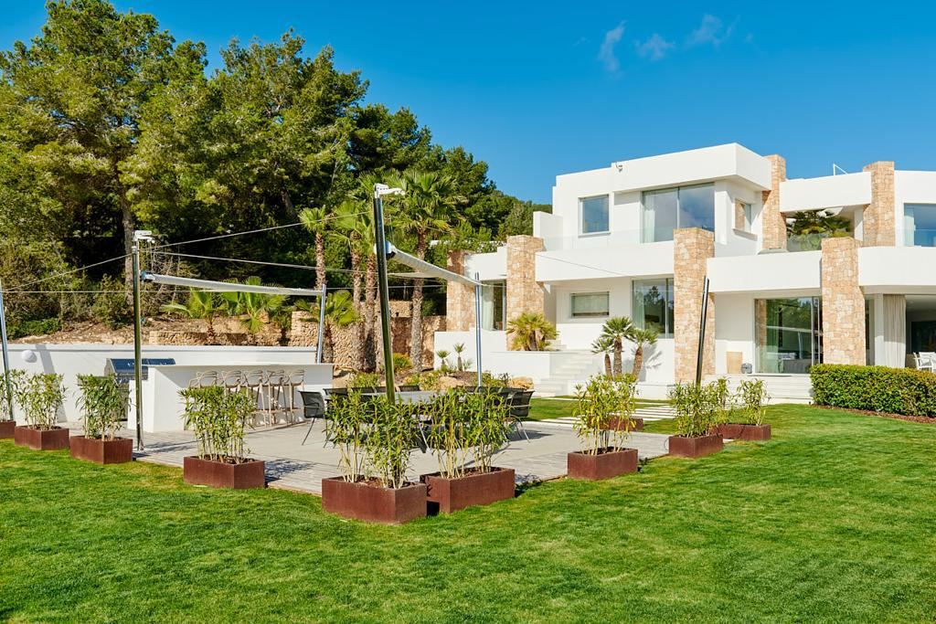 New built luxury villa near to Ibiza with best views to the sea