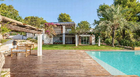 Beautiful sea view finca with guest apartments near Ibiza Town