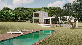 Beautiful development project with approved licence near Ibiza Town
